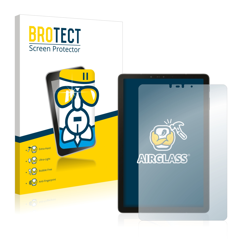 BROTECT AirGlass čirá skleněná fólie pro Samsung Galaxy Tab S4 10.5