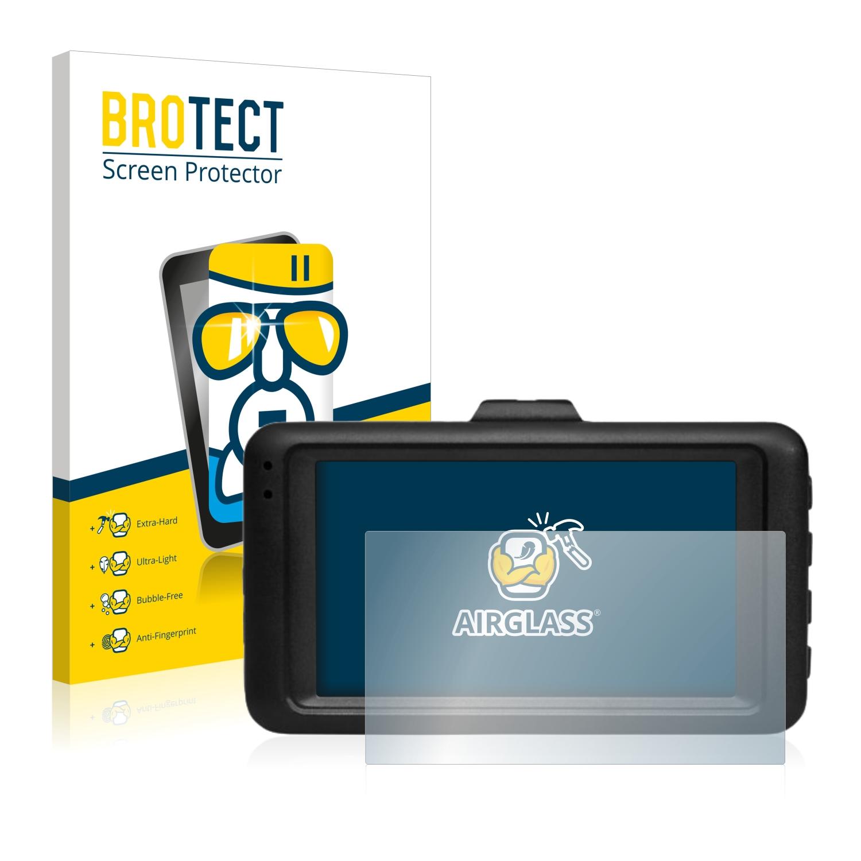 BROTECT AirGlass čirá skleněná fólie pro Medion E49018 Autokamera (MD 87935)