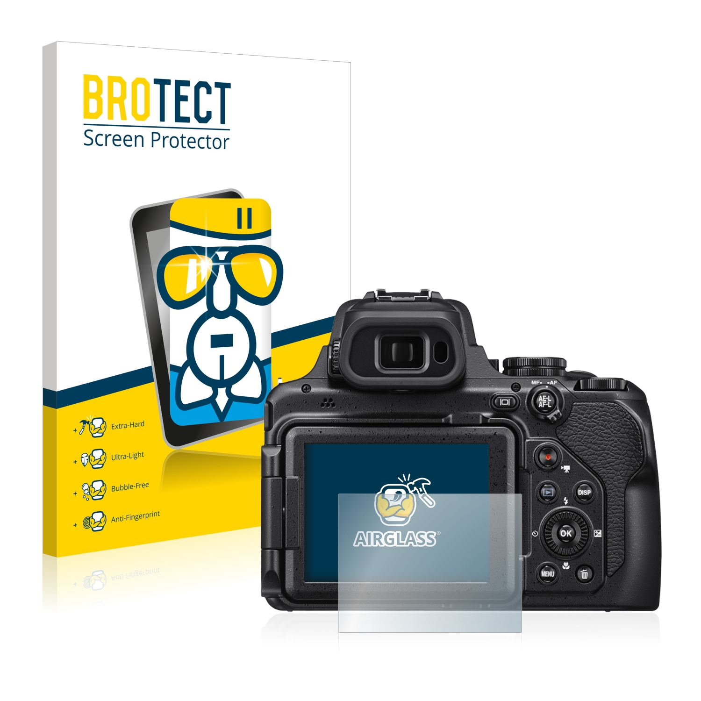 BROTECT AirGlass čirá skleněná fólie pro Nikon Coolpix P1000