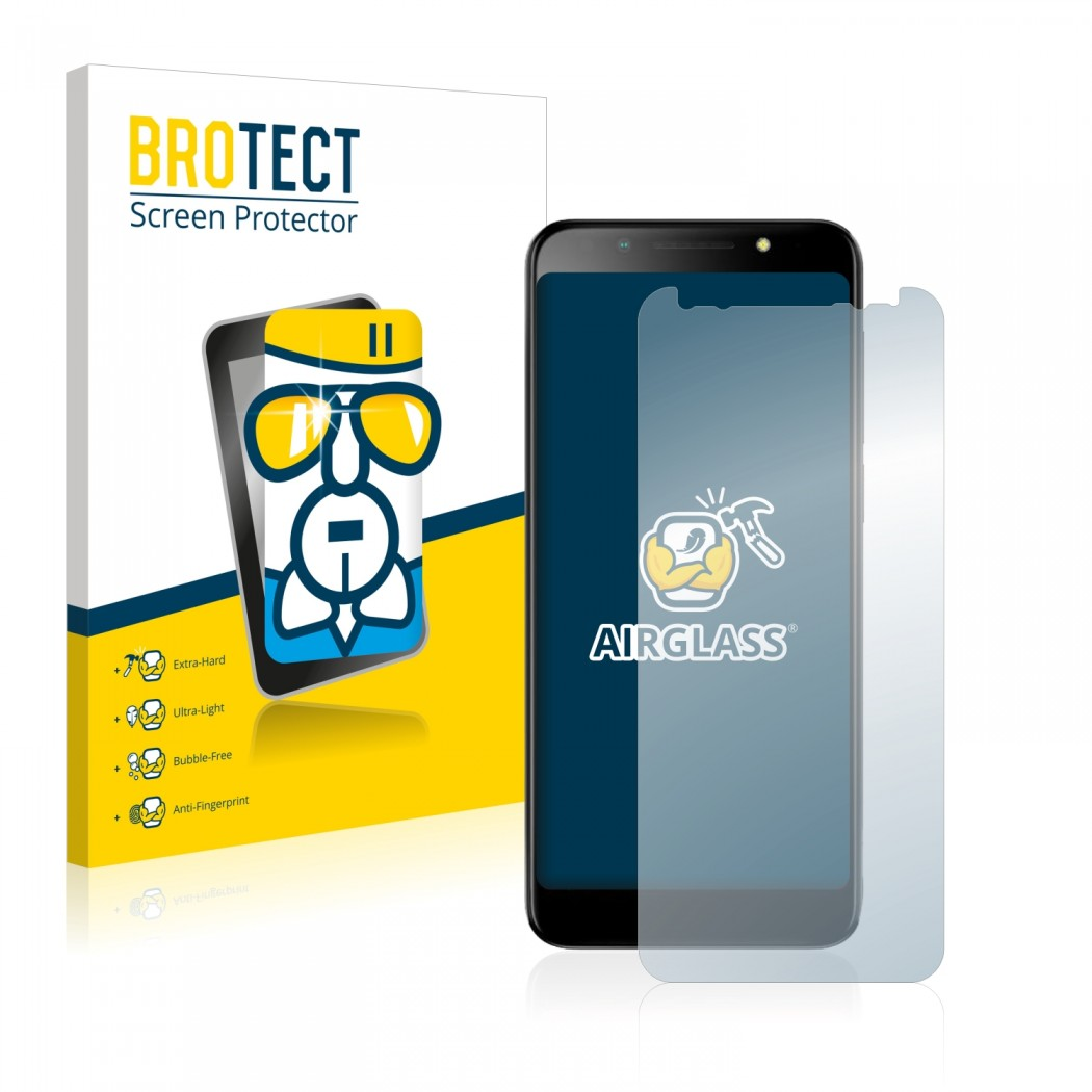 BROTECT® AirGlass® Glass Screen Protector for Vodafone Smart N9 Lite
