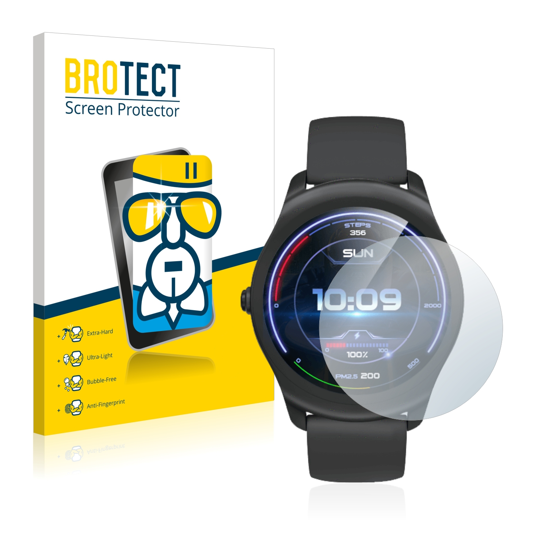BROTECT AirGlass čirá skleněná fólie pro Mobvoi Ticwatch Active