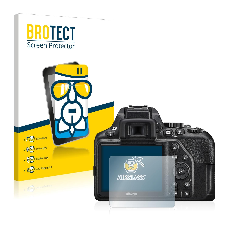 BROTECT AirGlass čirá skleněná fólie pro Nikon D3500