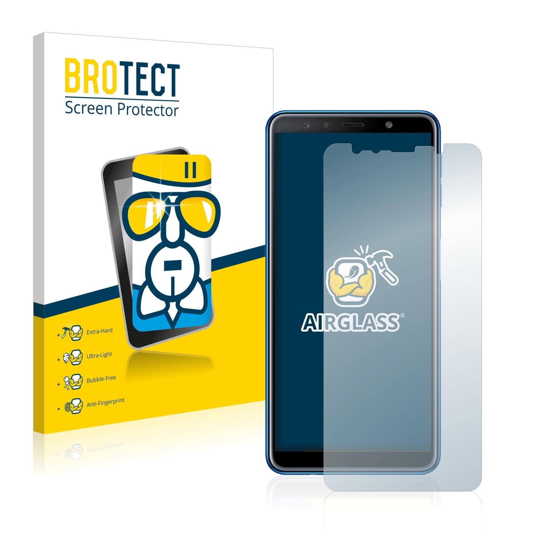 BROTECT AirGlass čirá skleněná fólie pro Samsung Galaxy A7 2018