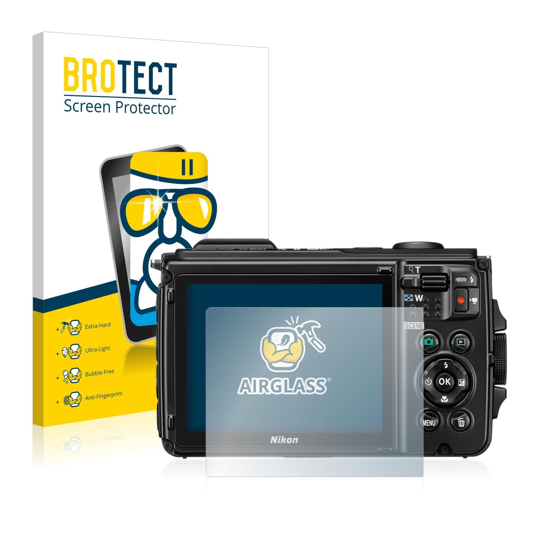 BROTECT AirGlass čirá skleněná fólie pro Nikon Coolpix AW300