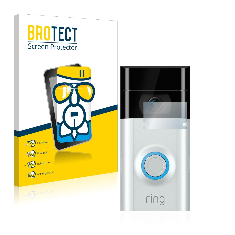 BROTECT AirGlass čirá skleněná fólie pro Ring Doorbell 2 (čočka)