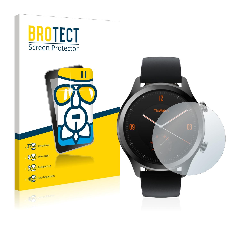 BROTECT AirGlass čirá skleněná fólie pro Mobvoi Ticwatch C2