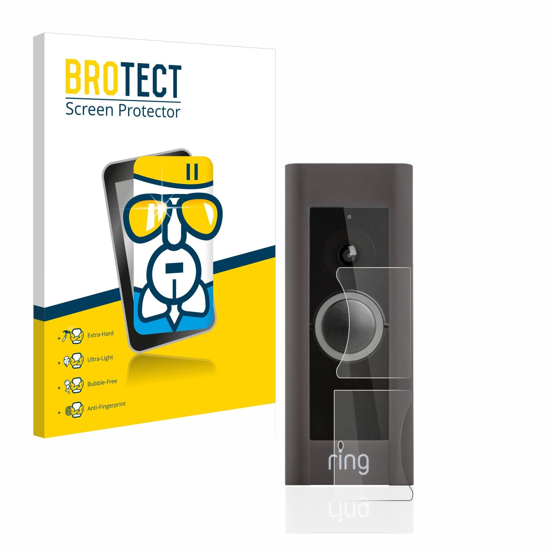 BROTECT AirGlass čirá skleněná fólie pro Ring Video Doorbell Pro