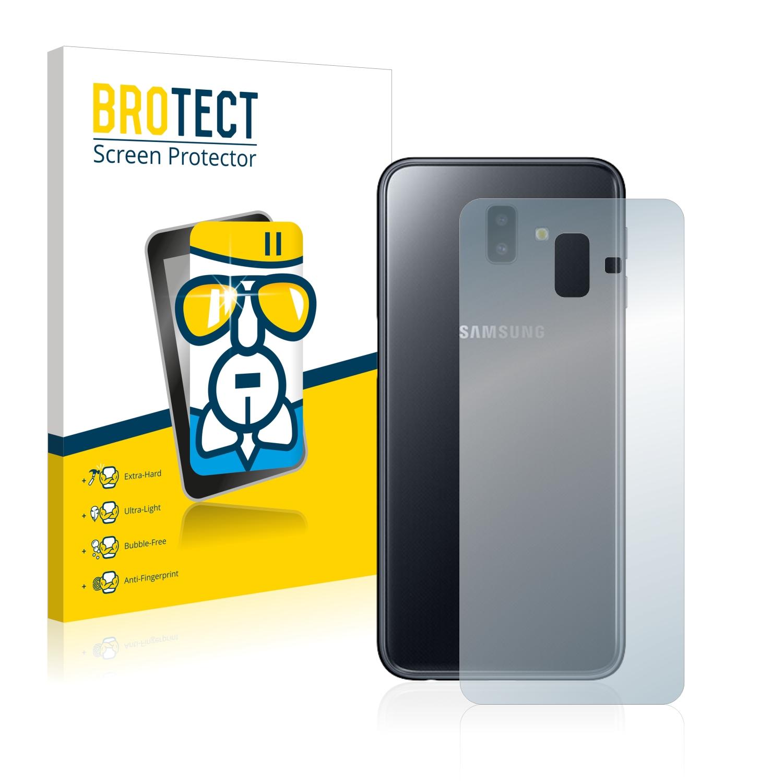 BROTECT AirGlass čirá skleněná fólie pro Samsung Galaxy J6 Plus (zadní strana)