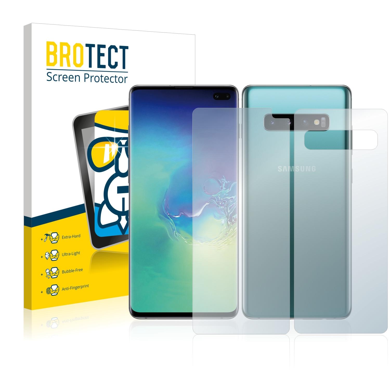 Airglass ochranné sklo pro Samsung Galaxy S10 Plus (Přední + Zadní strana)