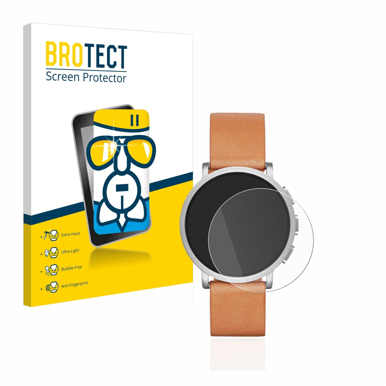 BROTECT AirGlass čirá skleněná fólie pro Skagen Unisex Hybrid Smartwatch SKT1104