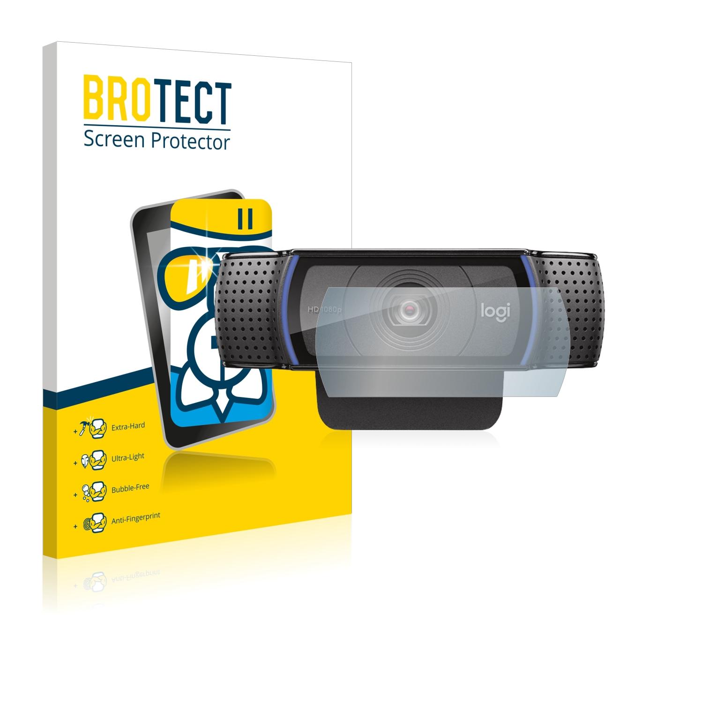 BROTECT AirGlass čirá skleněná fólie pro Logitech C920 HD Pro Webcam