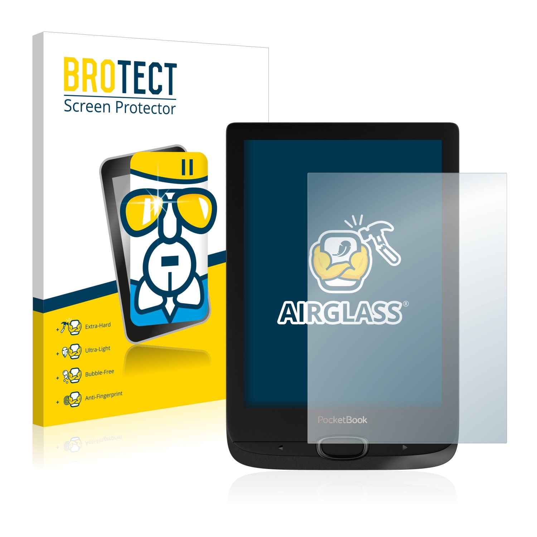 BROTECT AirGlass čirá skleněná fólie pro PocketBook Basic Lux 2