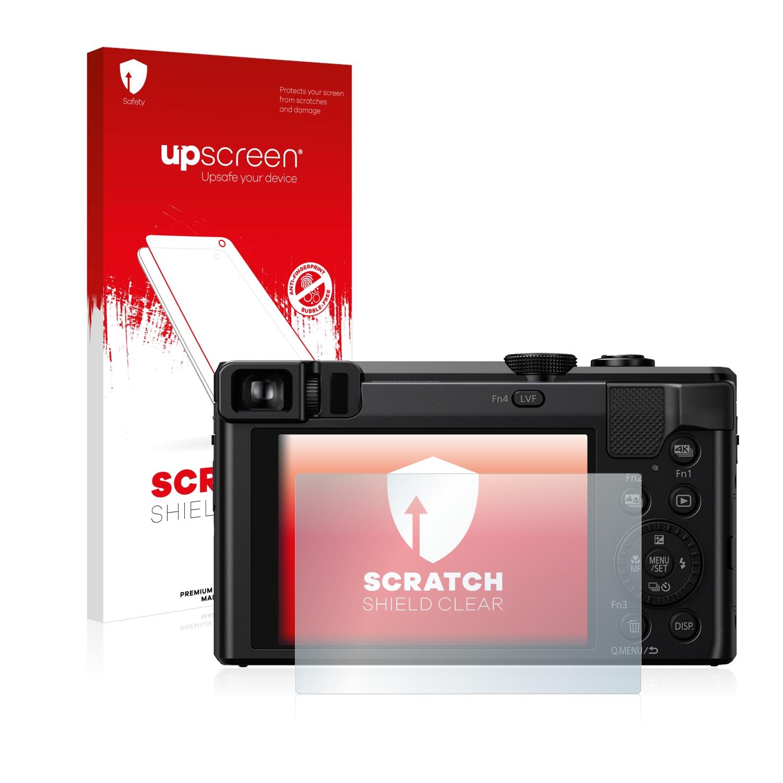 2x brotect protector de pantalla claro Panasonic Lumix dmc-tz30 lámina protectora