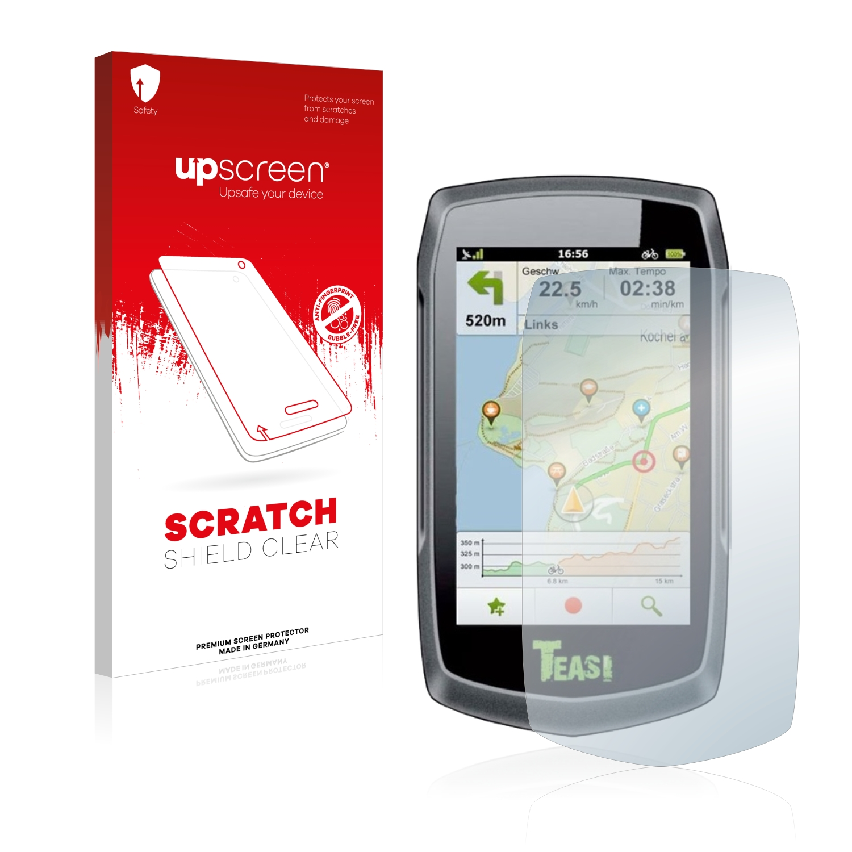 Čirá ochranná fólie upscreen® Scratch Shield pro A-Rival Teasi One Classic