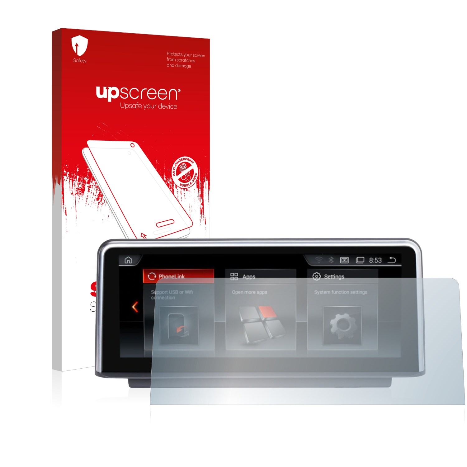 """10.2/"""" 2x NaviFly Android Matte Screen Protector Protection Film Anti Glare"""