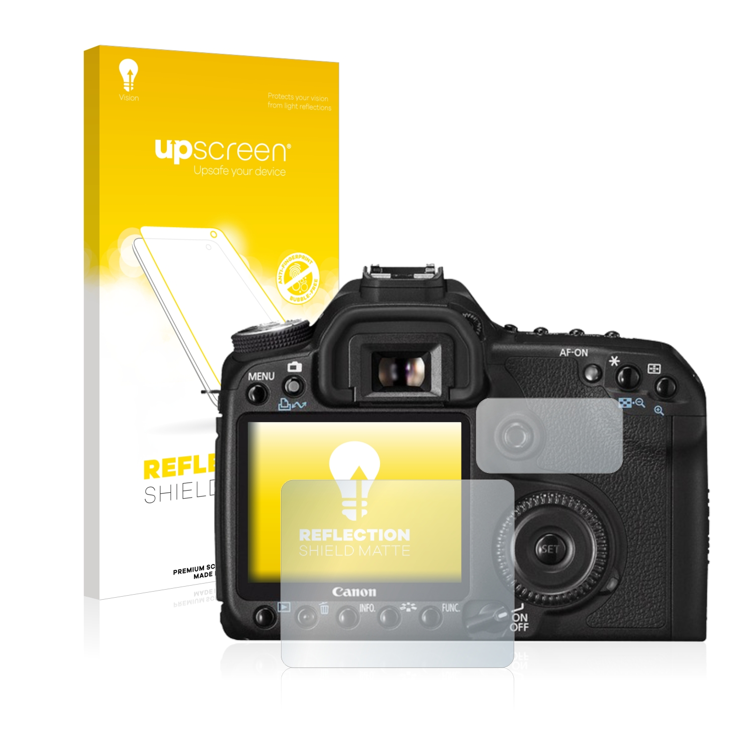 brotect 2-Pack Screen Protector Anti-Glare compatible with FujiFilm X-T30 Screen Protector Matte Anti-Fingerprint Protection Film