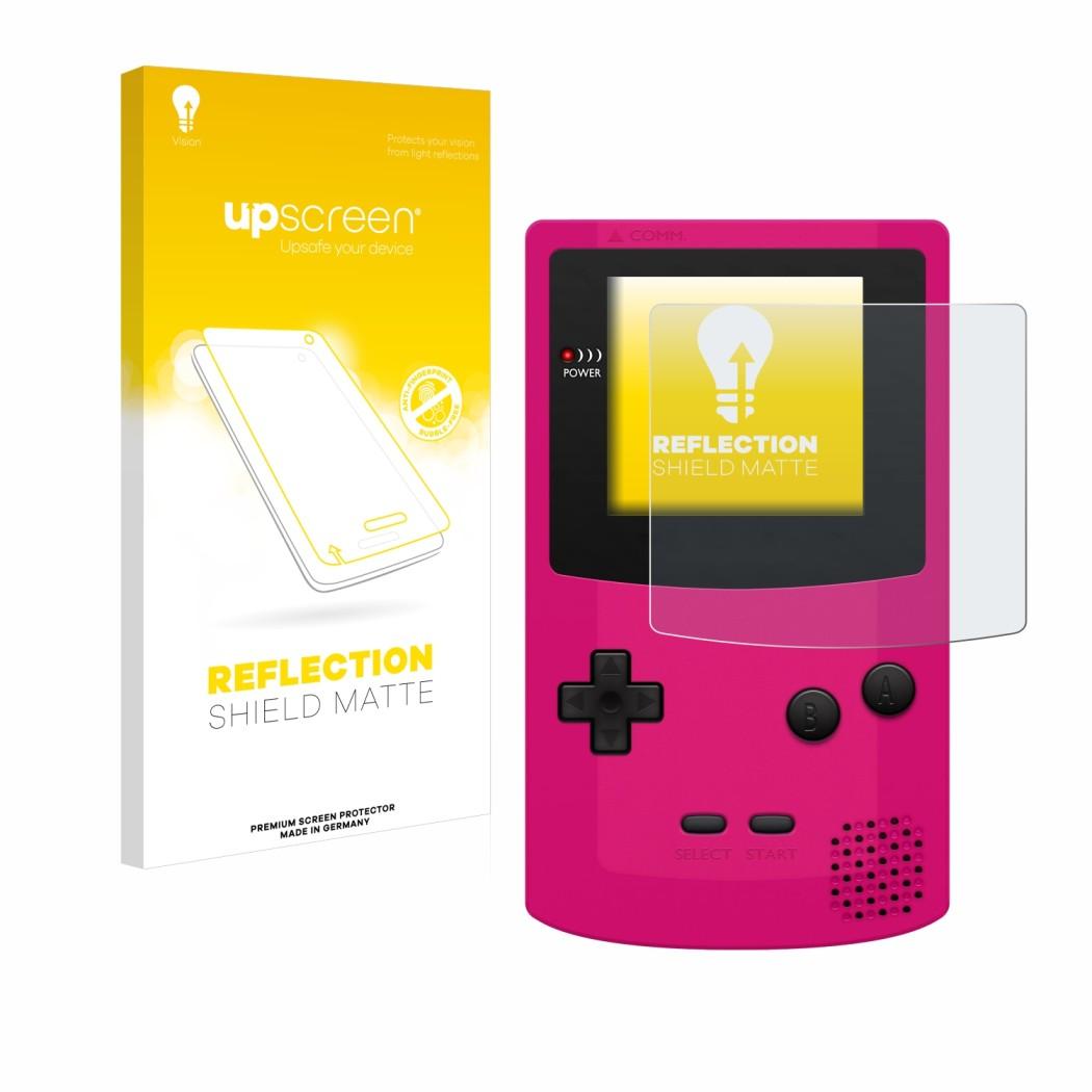 Upscreen Reflection Shield Matte Protector For Nintendo Gameboy Color