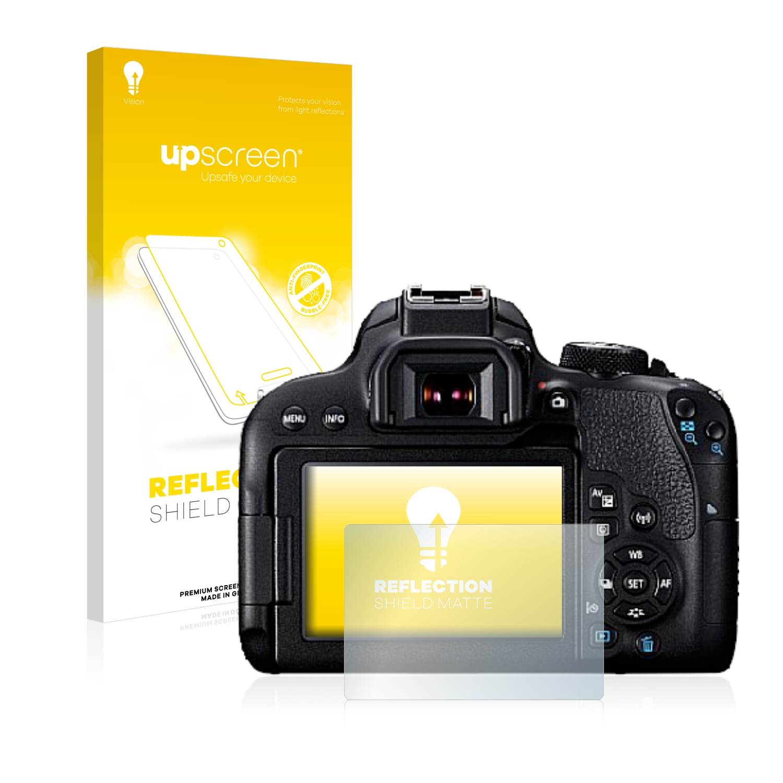 Antirreflejo Protector de pantalla para Canon EOS 7D Mark protección de película de vidrio mate II