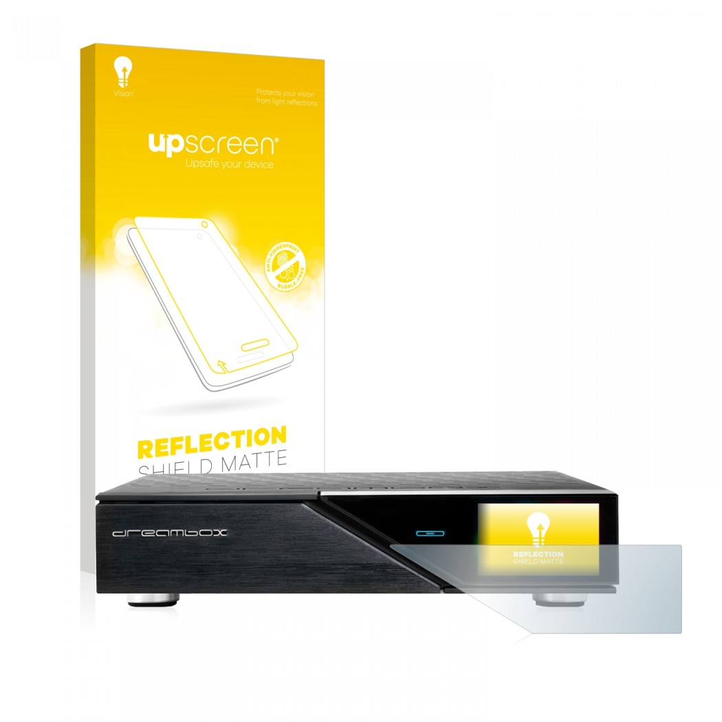 upscreen® Reflection Shield Matte Protector for Dreambox DM920 Ultra-HD