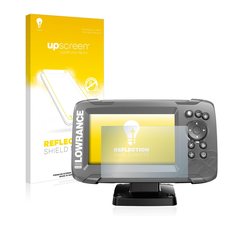 upscreen Reflection Schutzfolie Lowrance HDS 9 Live Echolot Matt