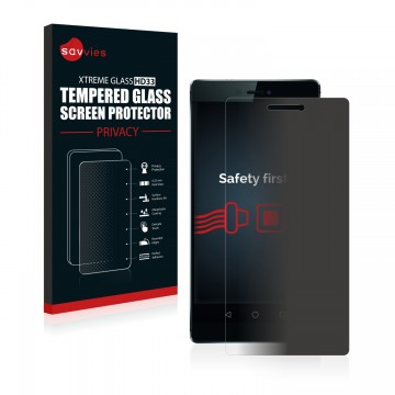Privacy Tempered Glass Screen Protectors for Huawei P8 - free