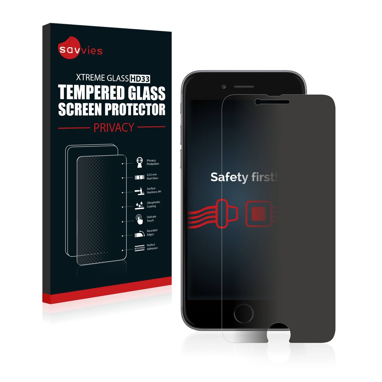 7557ba205284 Dettagli su PELLICOLA VETRO TEMPERATO PRIVACY per Apple iPhone 6S Anti Spy