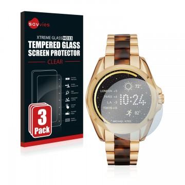 1adff1373aec TOPSELLER. 3x Savvies® Tempered Glass Screen Protector for Michael Kors  Access Bradshaw
