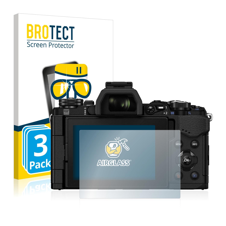 6x Display Schutz Folie für Olympus VR-325 Klar Transparent