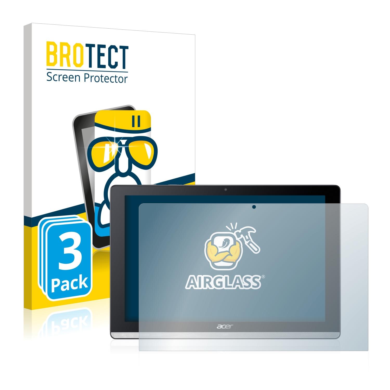 3x BROTECT AirGlass čirá skleněná fólie pro Acer Iconia One 10 B3-A50