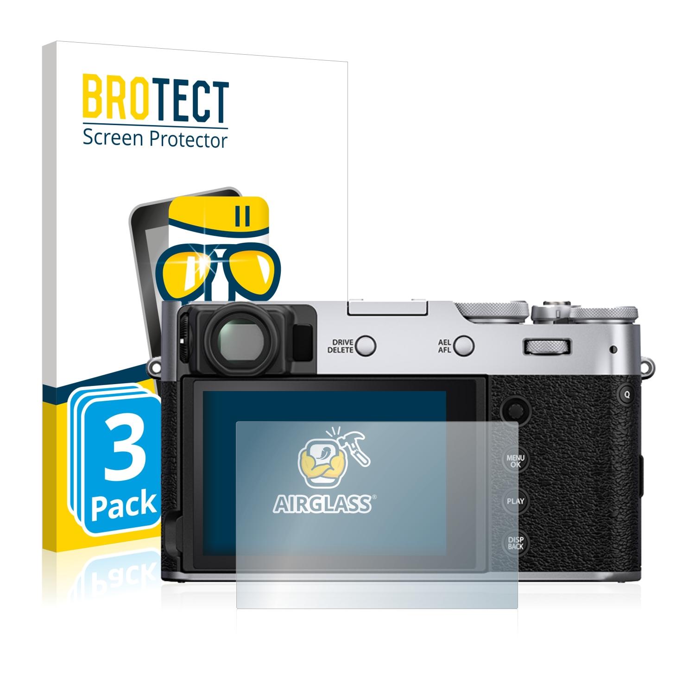 2x BROTECT Protector Pantalla Fujifilm Instax Square SQ10 Película Protectora
