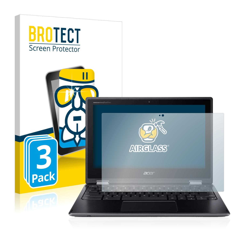 3x BROTECT AirGlass čirá skleněná fólie pro Acer Chromebook Spin 511 R752TN-C5P0