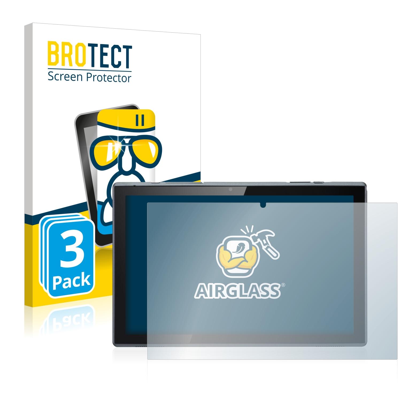 3x BROTECT AirGlass čirá skleněná fólie pro Acer ACTAB1021