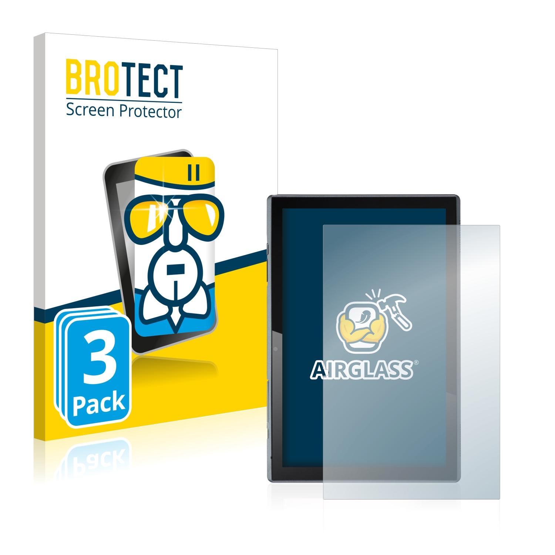 3x BROTECT AirGlass čirá skleněná fólie pro Acer ACTAB1021 (na výšku)