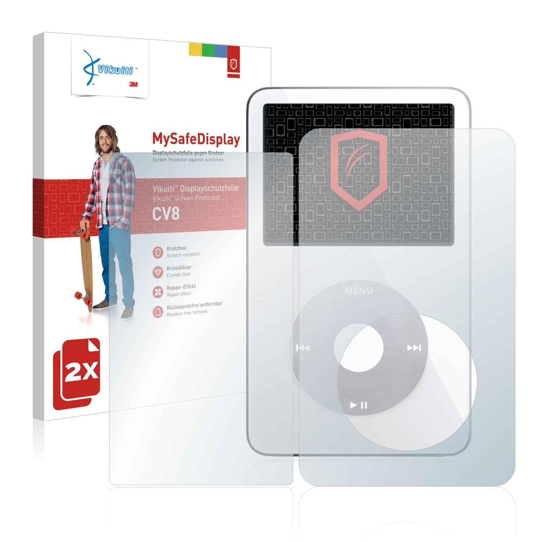 Ochranná fólie CV8 od 3M pro Apple iPod classic video (Přední strana + Zadní strana, 5. Generation), 2ks