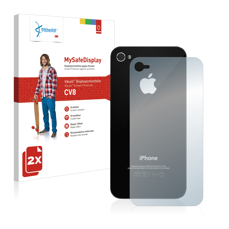 Ochranná fólie CV8 od 3M pro Apple iPhone 4 (Zadní strana), 2ks