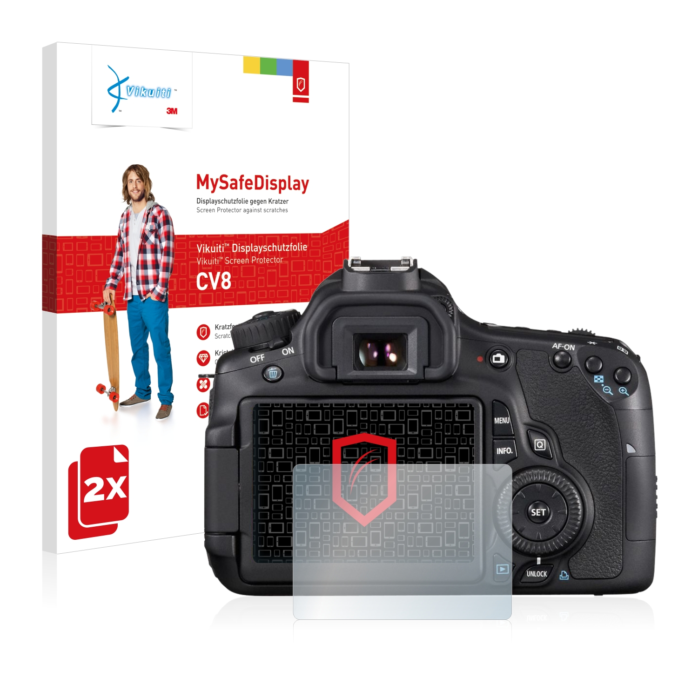 Ochranná fólie CV8 od 3M pro Canon EOS 60D, 2ks