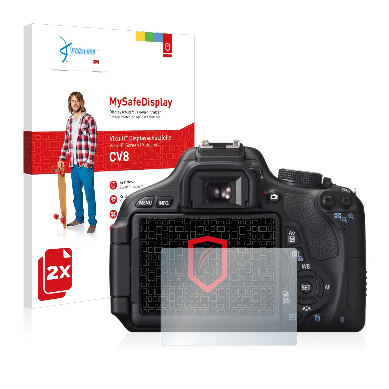 Ochranná fólie CV8 od 3M pro Canon EOS 600D, 2ks