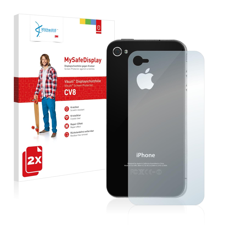 Ochranná fólie CV8 od 3M pro Apple iPhone 4S (Zadní strana), 2ks