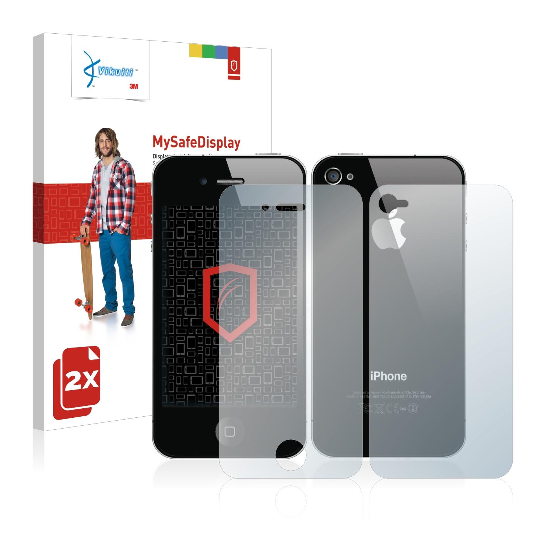 Ochranná fólie CV8 od 3M pro Apple iPhone 4S (Přední strana + Zadní strana), 2ks