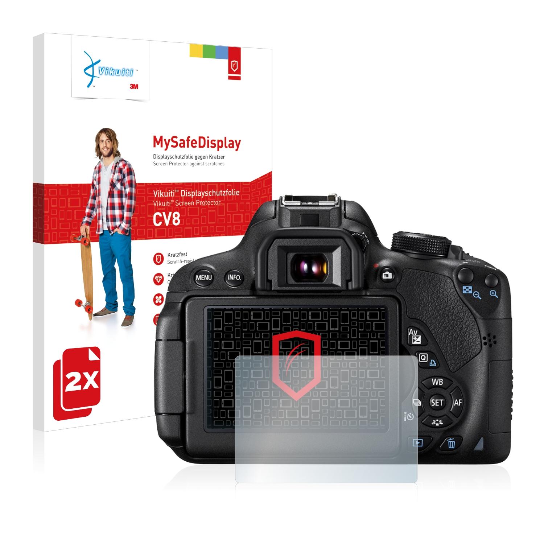 Ochranná fólie CV8 od 3M pro Canon EOS 700D, 2ks