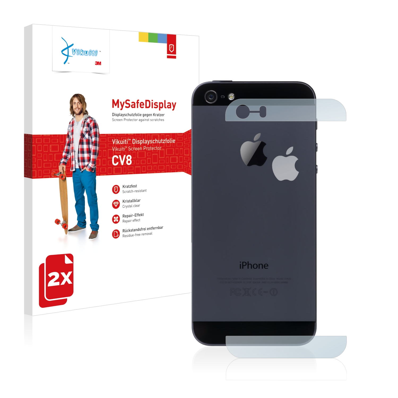 Ochranná fólie CV8 od 3M pro Apple iPhone 5S Zadní strana (Glasflächen + Logo), 2ks