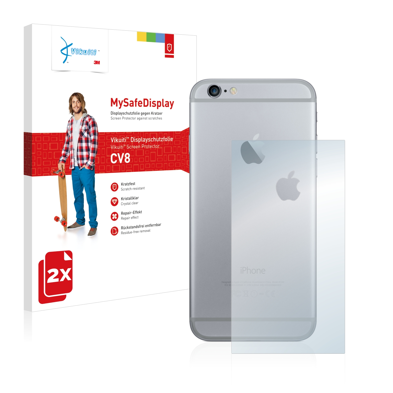 Ochranná fólie CV8 od 3M pro Apple iPhone 6 Plus Zadní strana (Mittelfläche + LogoCut), 2ks