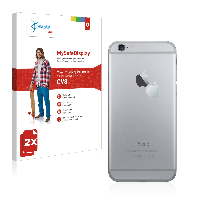 Ochranná fólie CV8 od 3M pro Apple iPhone 6 (Logo auf der Zadní strana), 2ks