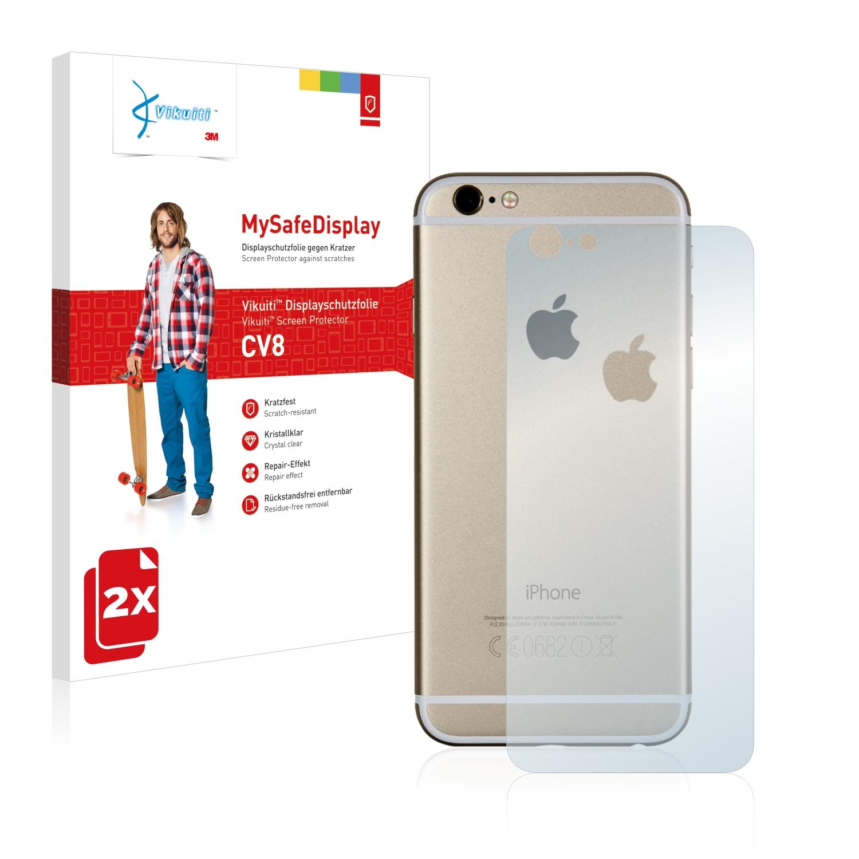 Ochranná fólie CV8 od 3M pro Apple iPhone 6S Zadní strana (gesamte Fläche + LogoCut), 2ks