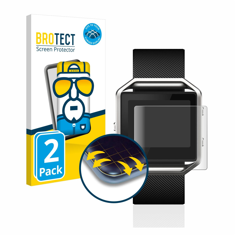 Ochranná fólie BROTECT Flex Full-Cover pro Fitbit Blaze, 2ks