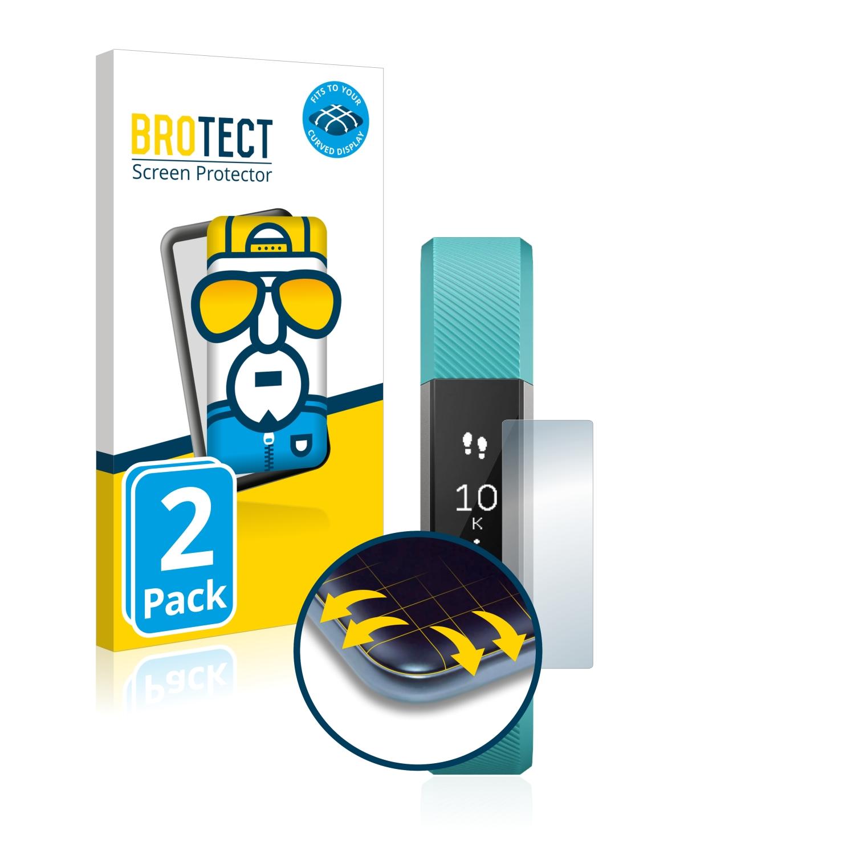 Ochranná fólie BROTECT Flex Full-Cover pro Fitbit Alta, 2ks