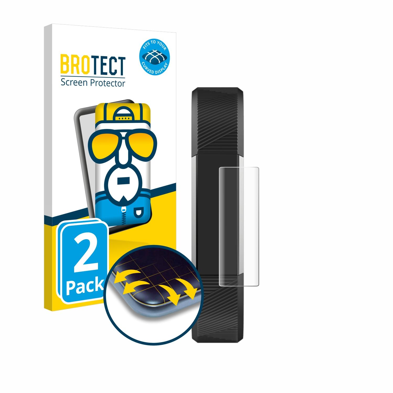 Ochranná fólie BROTECT Flex Full-Cover pro Fitbit Alta HR, 2ks