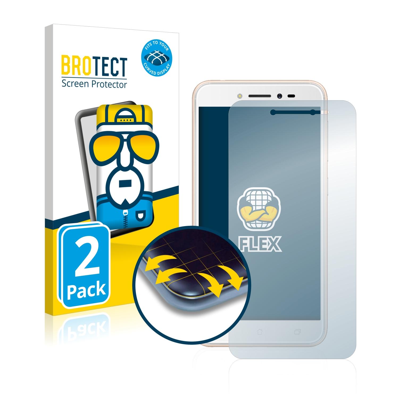 Ochranná fólie BROTECT Flex Full-Cover pro Asus ZenFone Live ZB501KL, 2ks