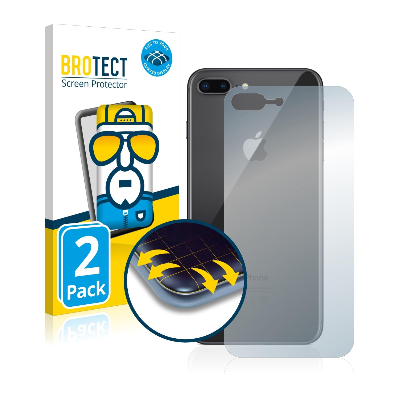 Ochranná fólie BROTECT Flex Full-Cover pro Apple iPhone 8 Plus (Zadní strana), 2ks
