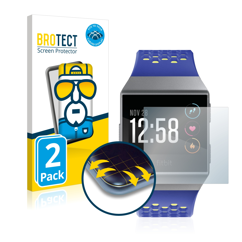 Ochranná fólie BROTECT Flex Full-Cover pro Fitbit Ionic, 2ks